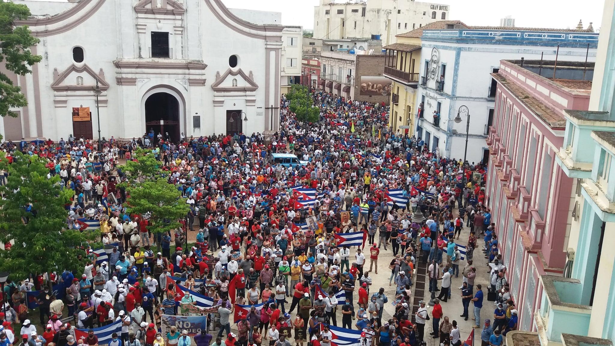 Demonstartion in Camagüey